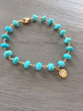Load image into Gallery viewer, Sleeping Beauty Turquoise Bracelet