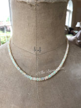 Load image into Gallery viewer, Delicate Ethiopian Opal Necklace