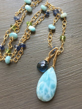 Load image into Gallery viewer, Larimar Necklace