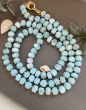 Load image into Gallery viewer, Larimar Candy Necklace
