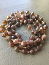 Load image into Gallery viewer, Chocolate Moonstone Necklace