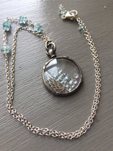 Charger l'image dans la galerie, Reserved for B- Antique French Shake Locket Aquamarine