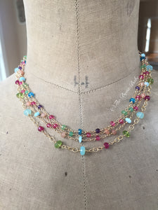 Gemstone Layering Necklaces