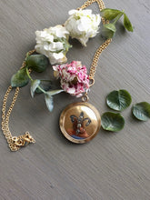 Load image into Gallery viewer, Antique Fleur de Lis Wightman & Hough Co Locket