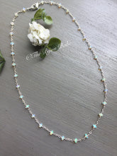 Load image into Gallery viewer, Custom Design Ethiopian Opal Station Necklace