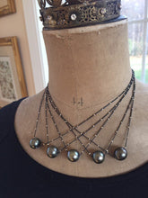 Load image into Gallery viewer, Tahitian Pearl Slider Pendant