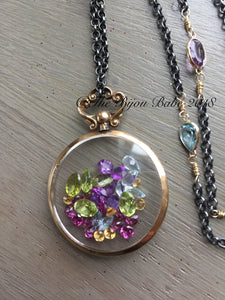 Antique Shake Locket Edwardian 9ct Gold Locket