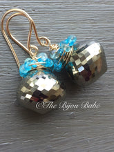 Charger l'image dans la galerie, Pyrite Cluster Earrings
