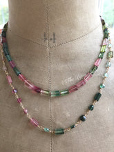 Load image into Gallery viewer, Multi Tourmaline Necklace