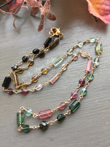 Multi Tourmaline Necklace