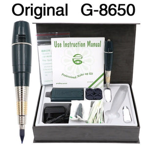 1 set G8650 Original Taiwan Permanent Makeup Kit Giant sun tattoo Machine G-8650 With Battery Tattoo Machine Complete Tattoo Kit