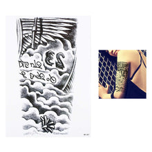 1pc Waterproof Temporary Tattoo Sticker 2018 High Quality 3D Robot Machine Pattern HB305 Women Men Arm Body Art Tattoo Temporary