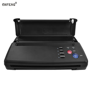 Tattoo Transfer Machine Thermal Stencil Copier Flash Printer Drawing LED Digital Tattoo Supply Body Art and 5pcs Transfer Papers