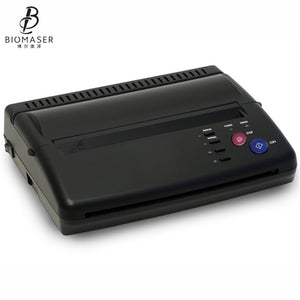 Biomaser DHL Tattoo Printer Tattoo Transfer Machine Drawing Thermal Stencil Maker Copier For Tattoo Transfer Paper Carbon Papier