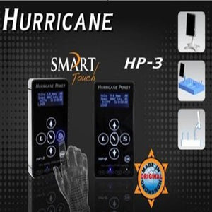 Smart Control Hurricane Tattoo Power Supply Digital Dual LCD Display Power Supply for tattoo machine tattoo gun free shipping