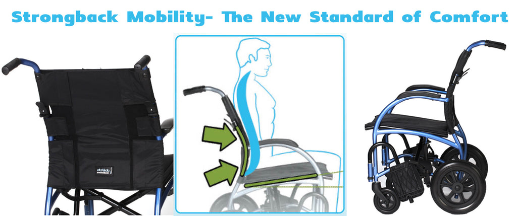 Comfortable Wheelchairs - Strongback Mobility!