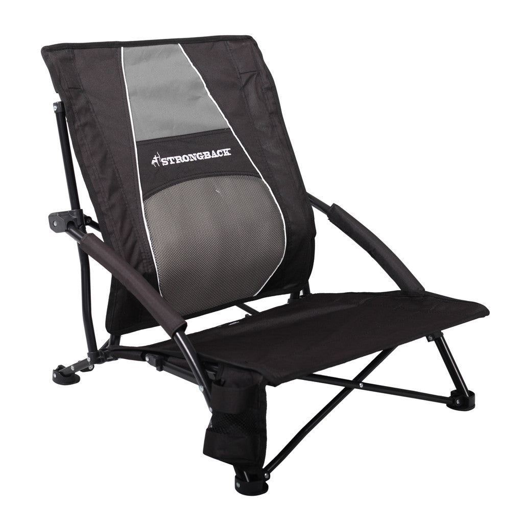 Comfortable camping chairs - Strongback Low Gravity Best Beach Chair