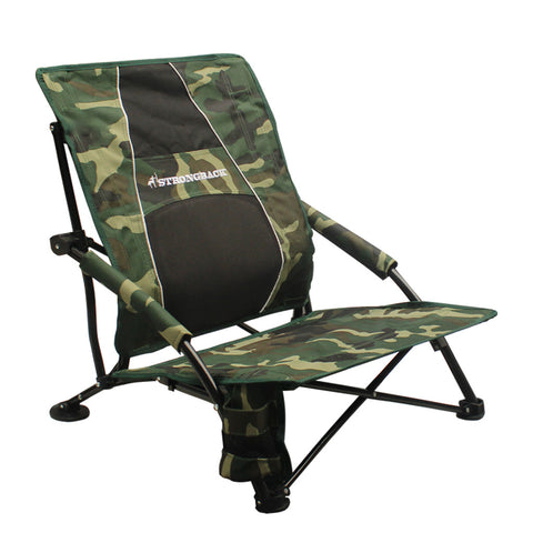 STRONGBACK Low Gravity Beach Chair - Camo