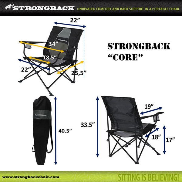 STRONGBACK CORE -MEASUREMENTS