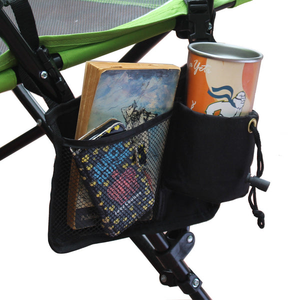 Strongback Upgraded Cup Holder and Pocket