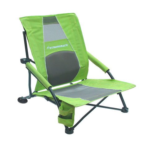 STRONGBACK Low Gravity Folding chair, Perfect for the Beach and Events