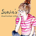 Sonia's illustration Life
