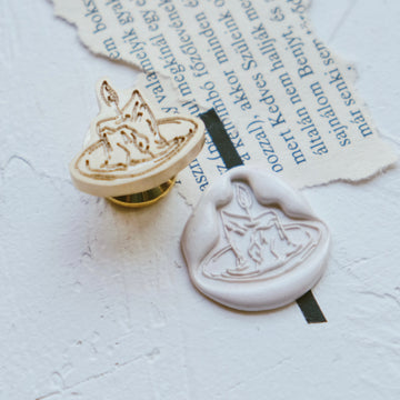 Feygu studio the Renaissance series wax seal stamp - candle