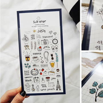 Suatelier A Daily Something Sticker Sheet