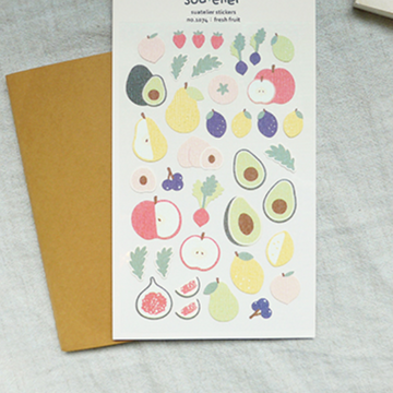 Suatelier Fresh Fruit Sticker Sheet