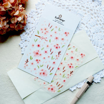 Suatelier Water Blossom Sticker