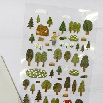 Suatelier Forest Sticker Sheet