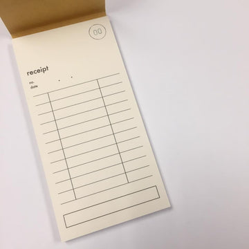 Classiky Rectangular Receipt Pad - 02
