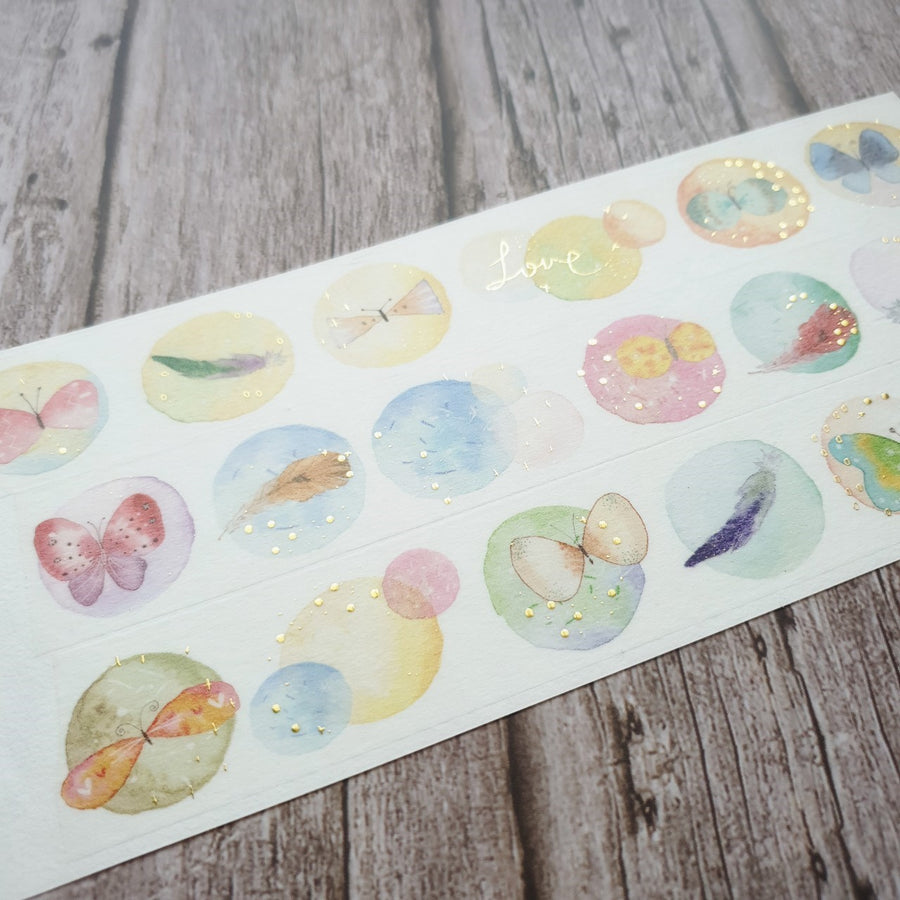 Fairy-Pill The World In The Bubble Washi Tape