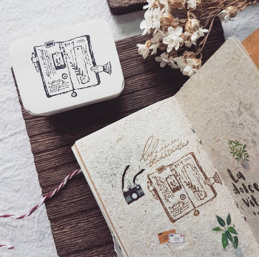Nove Rubber Stamp Collection - Journal Lover
