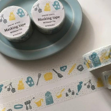 Hankodori x Papier Platz Washi Tape - Tools for Sweets