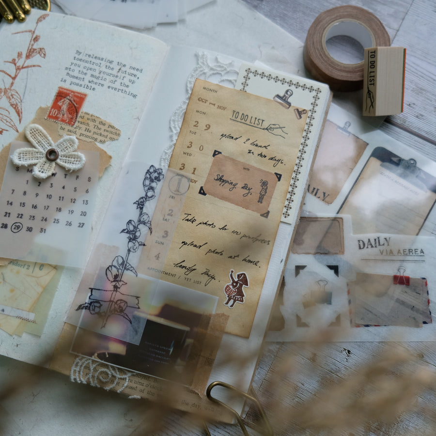 Classiky Vintage look Classiky Receipt Pad - 04