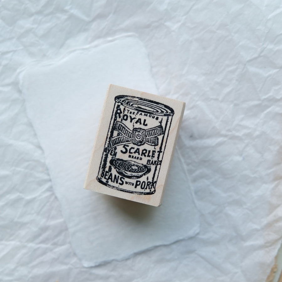 100 Proof Press Rubber Stamp Set - Delicious Food Can