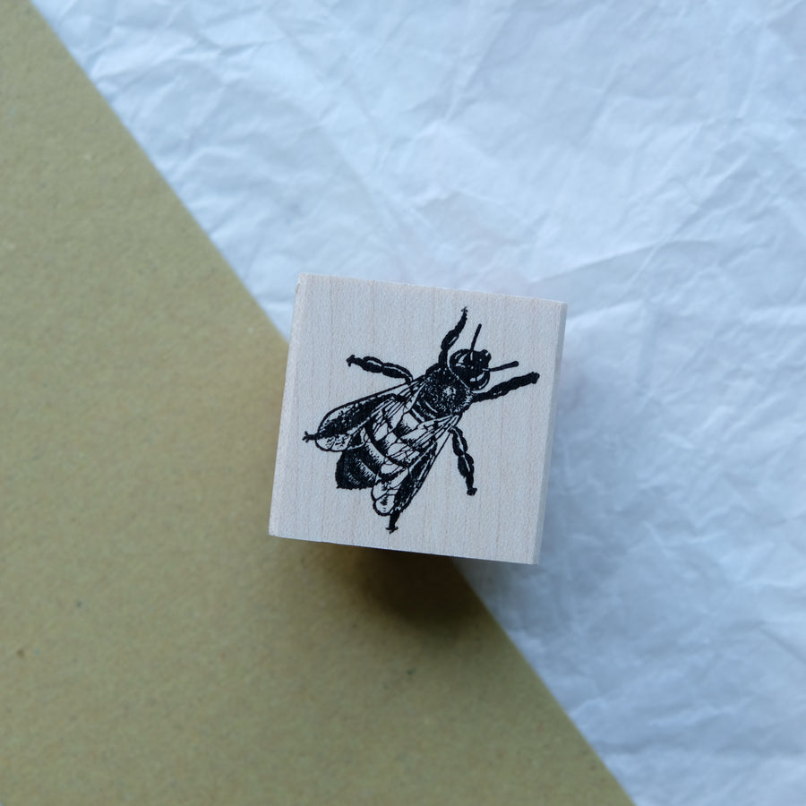 100 Proof Press Rubber Stamp Set - Insects illustration