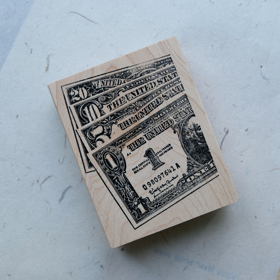100 Proof Press Rubber Stamp Set - Take You Around The World