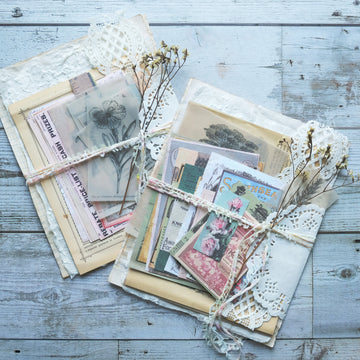 Vintage Paper Package Set