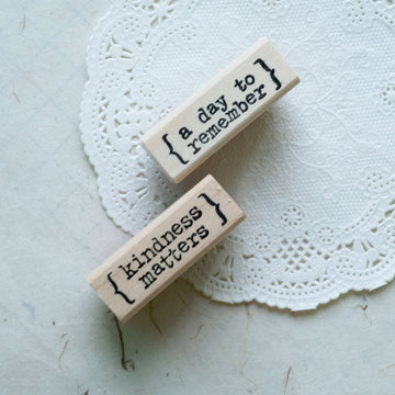 CatslifePress Memories Rubber Stamp