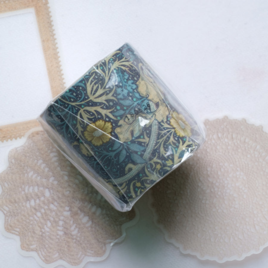 MT x William Morris Washi Tape - Seaweed