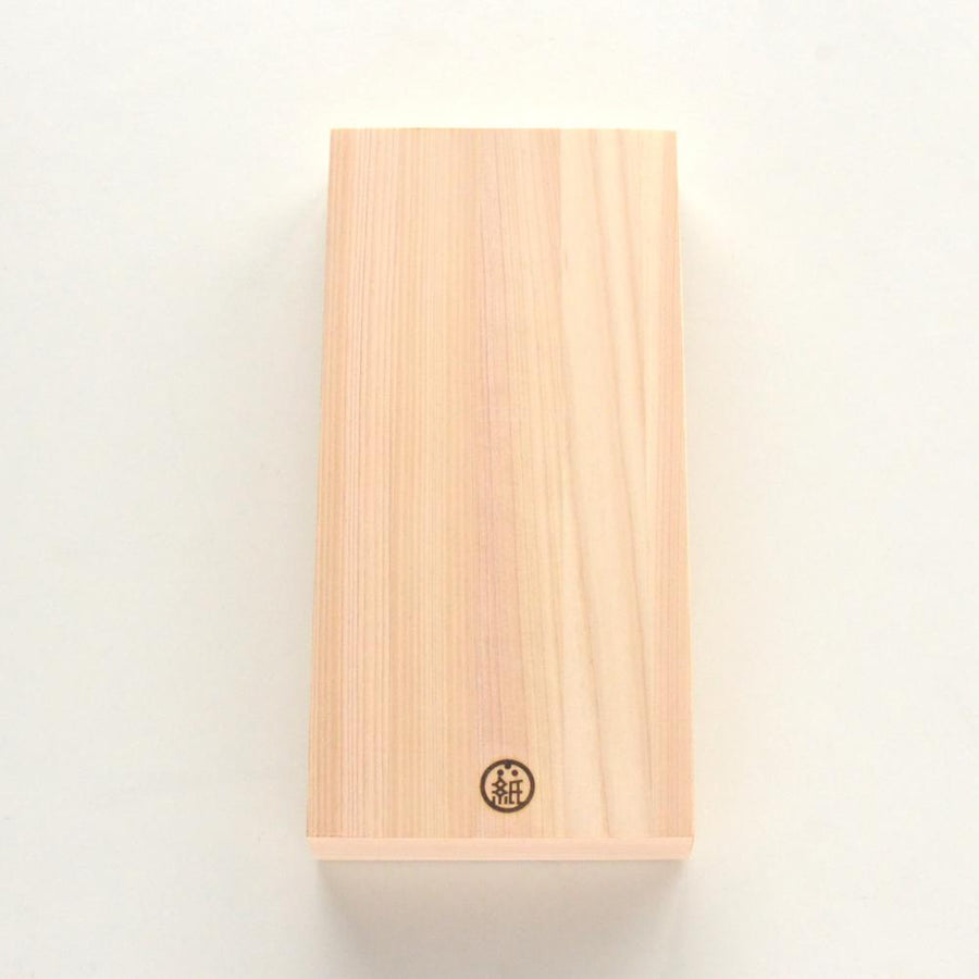 Tosawashi Washi Vertical Note Pad in Hinoki Wood Box