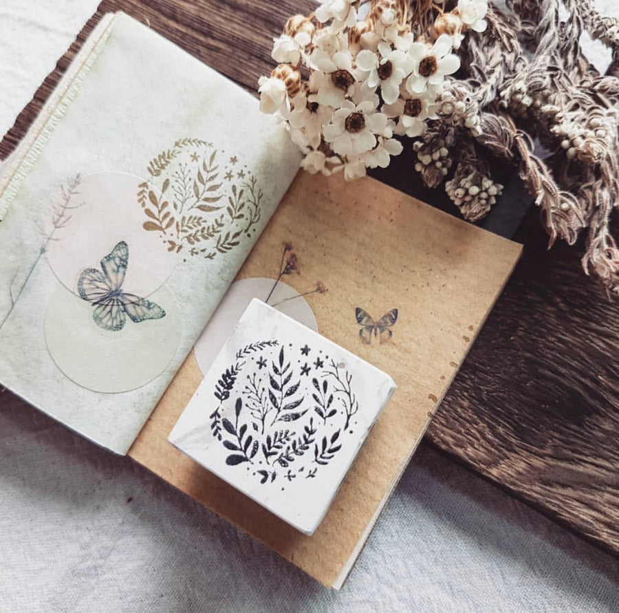 Nove Rubber Stamp Collection - Floral and Pattern
