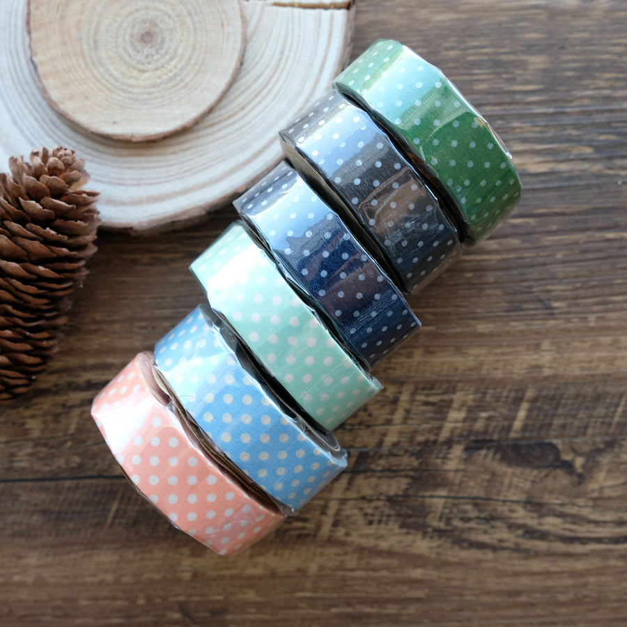 Classiky Dots Masking Tape - 1 Piece Pack