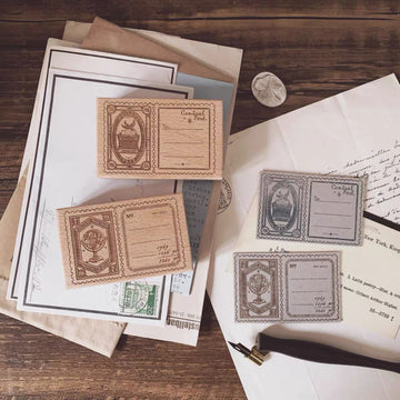 【Stamp Labels】Rubber stamp