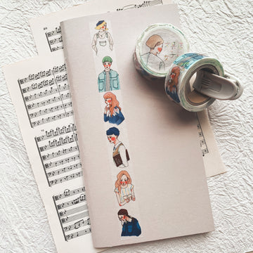 LDV Girls Washi Tape - No.5