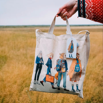 LDV Bon Voyage Two Way Canvas Bag