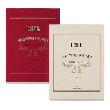 Life Writing paper 'Bank Paper' Notebook