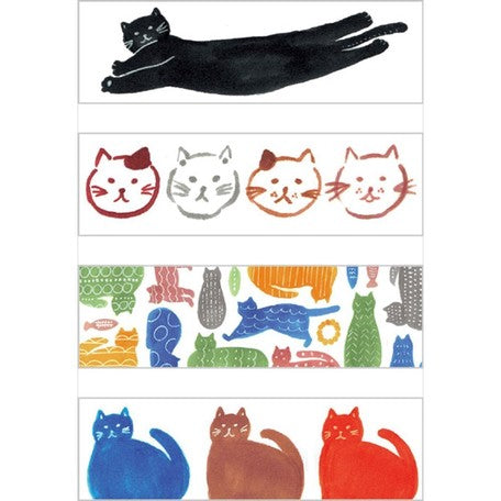 Kitta Basic washi tape - Cat